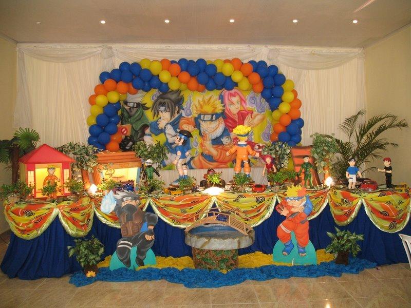 decoracao festa naruto:FOTOS – TEMAS DE MENINOS (N – O – P – R) – Festa Infantil Lugh