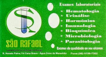 Água Doce - MA - Laboratório São Rafael