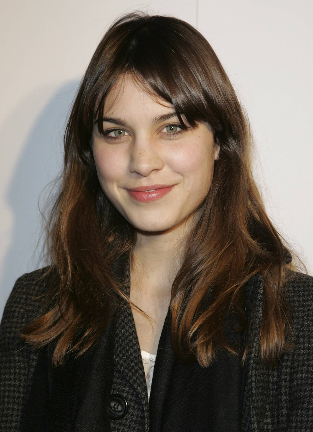 Alexa Chung In Long Hair