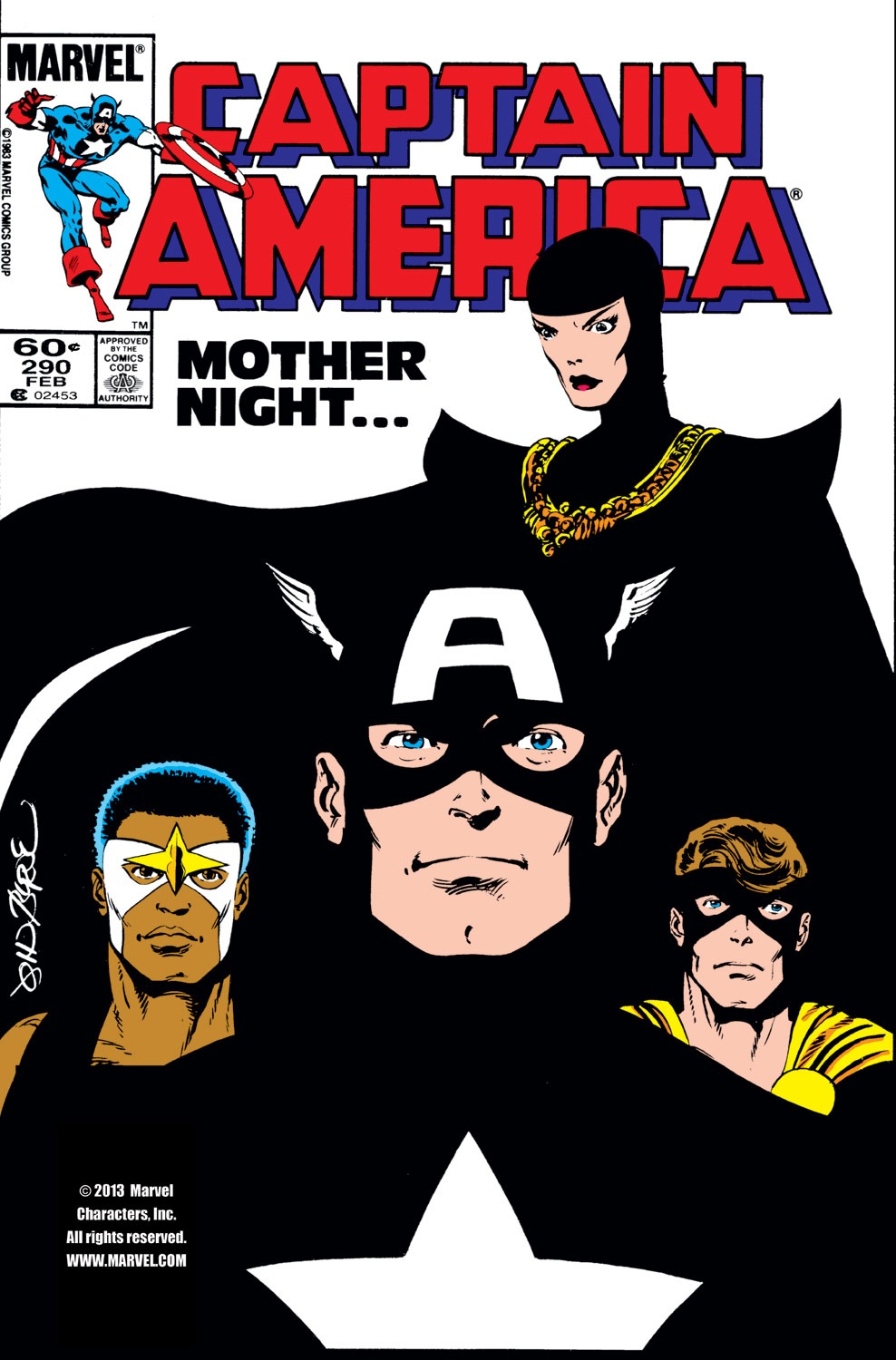 Captain America (1968) Issue #290 #206 - English 1