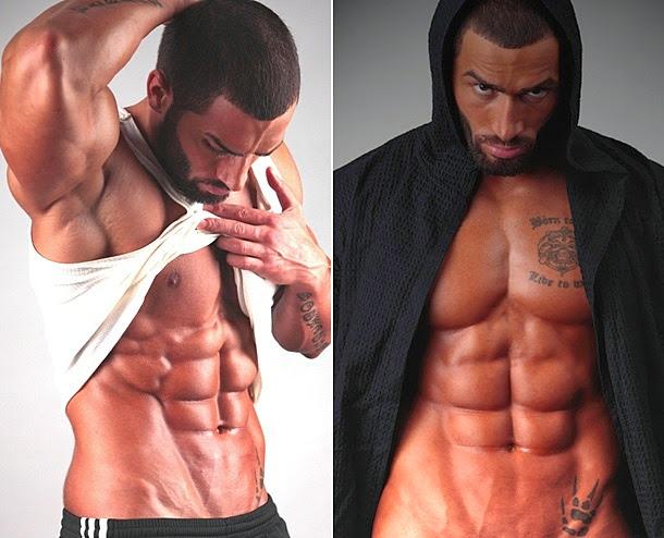Lazar Angelov Abs Fitness Model W...