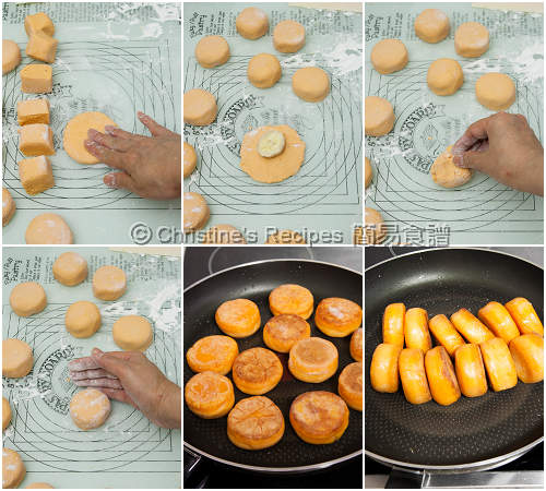 Sweet Potato Cakes with Banana Fillings Procedures02
