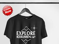 Kaos Explore Kebumen Edisi Kedua