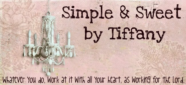 Simple & Sweet By Tiffany