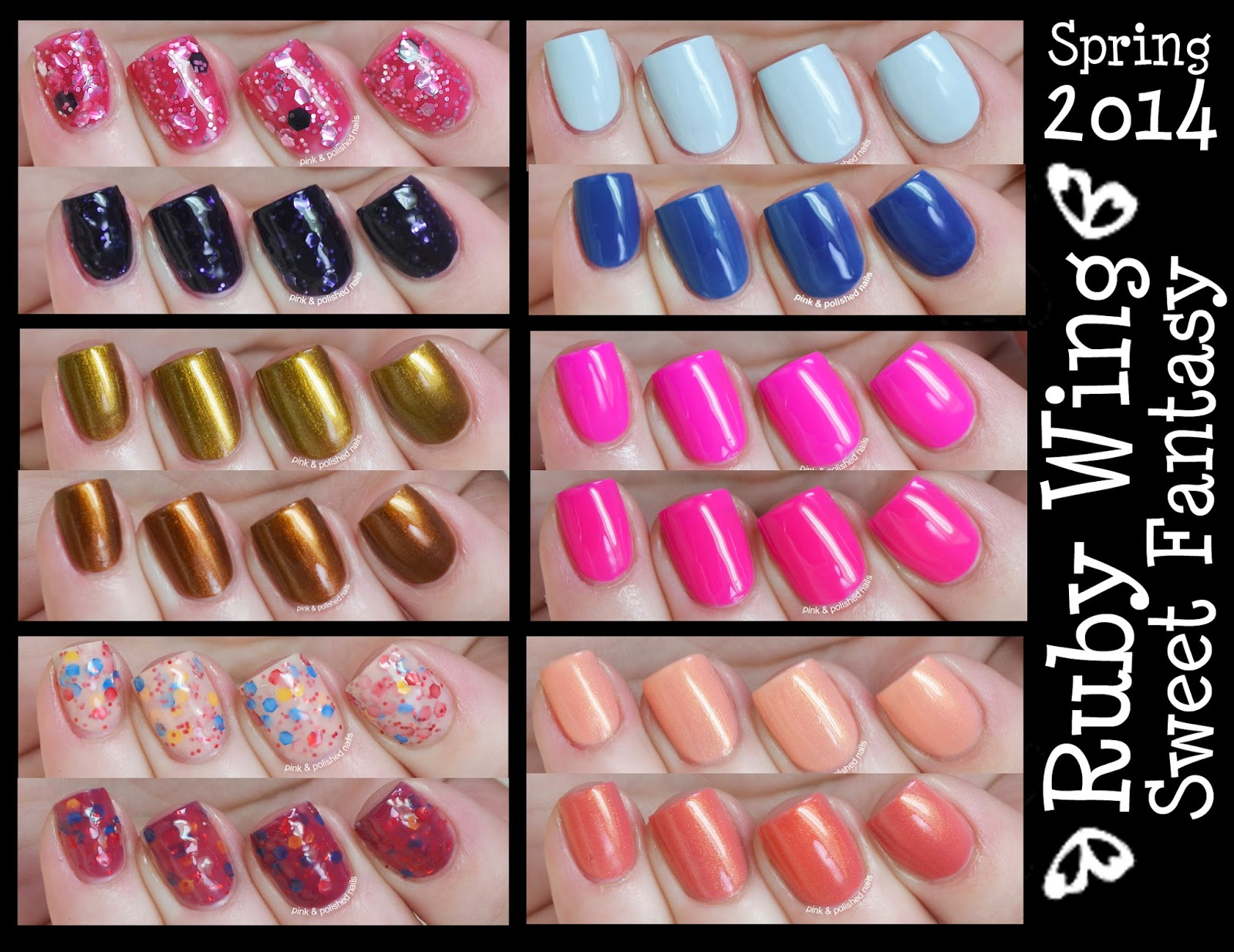 Pink & Polished: Ruby Wing Spring 2014 collection: Sweet Fantasy