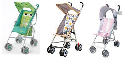 Carrinho de bebê: Passeio ou guarda-chuva