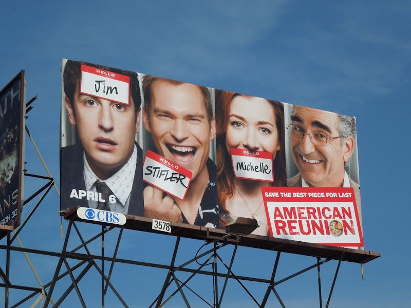 American Reunion billboard