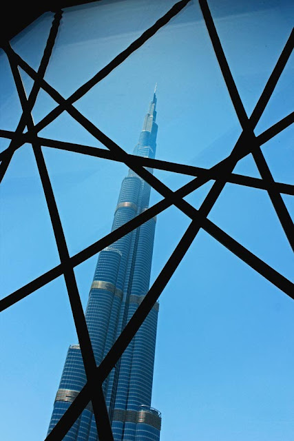 a graphic view of the Burj Khalifa
