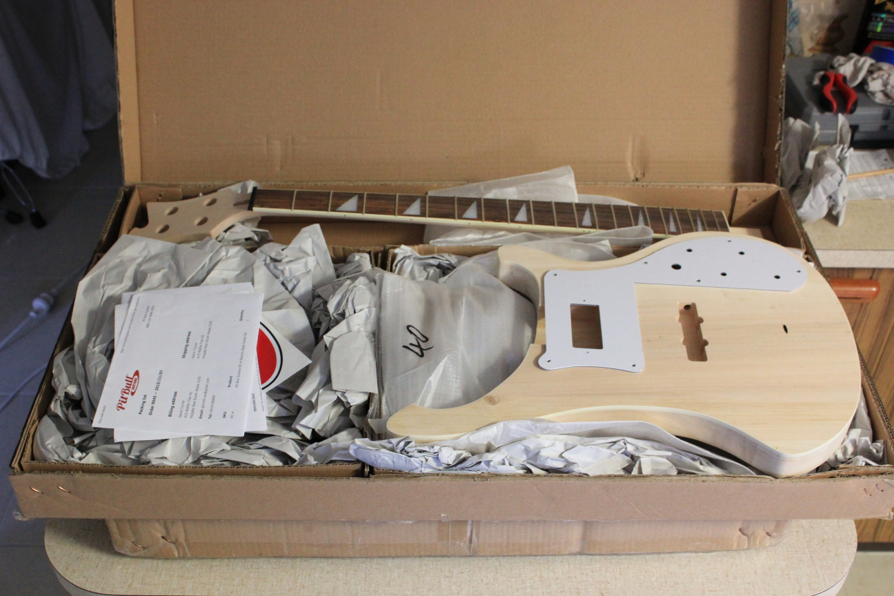 Guitar kit builder ricky 4001 bass unboxing mock build solutioingenieria Image collections