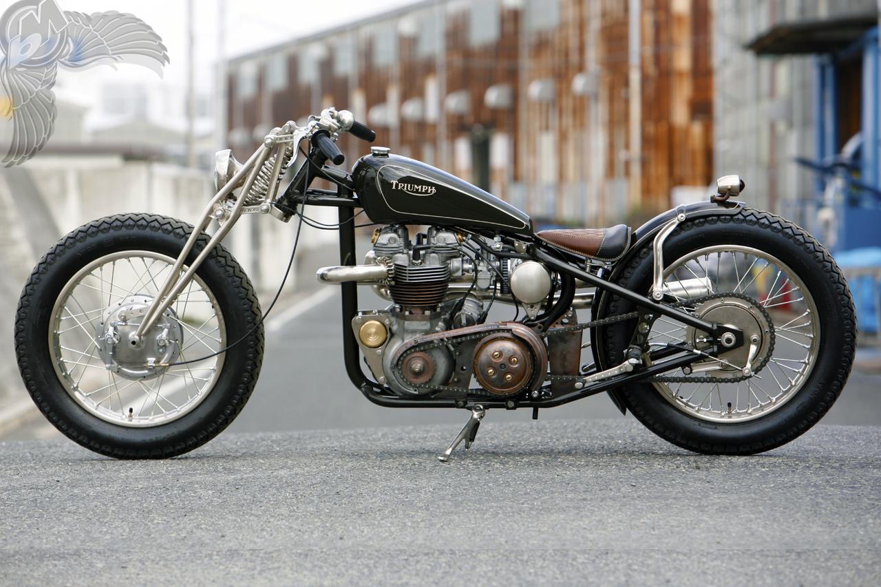 1958 triumph tr6 yokohama queen heiwa motorcycles ... much info. it's the yokohama queen by heiwa motorcycles in hiroshima. if ...