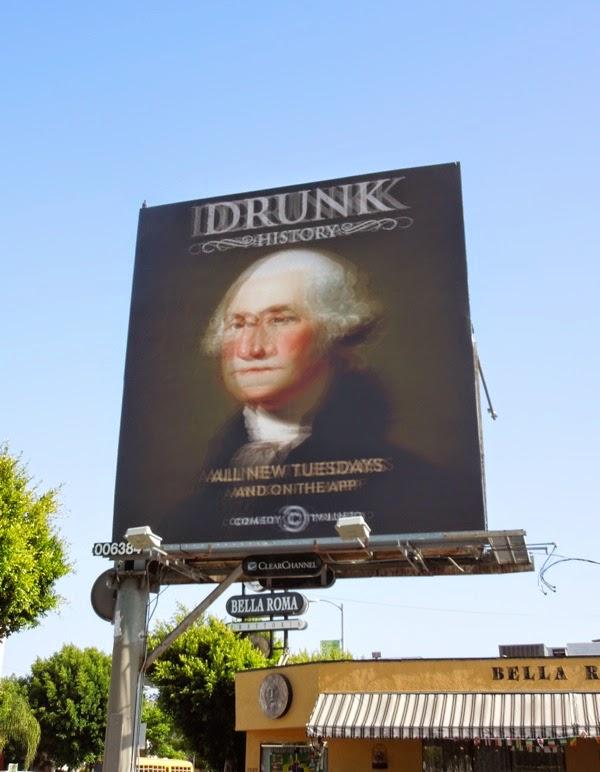 Drunk History George Washington season 2 billboard