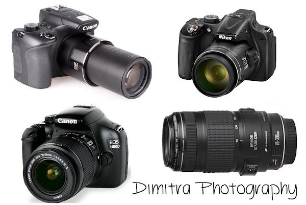 Canon Powershot Sx 60 -Nikon p600 Coolpix - Canon 1100D -Canon lens 70x300
