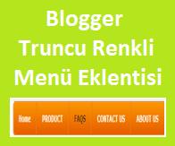Blogger Truncu Renkli Navigation Menü Eklentisi