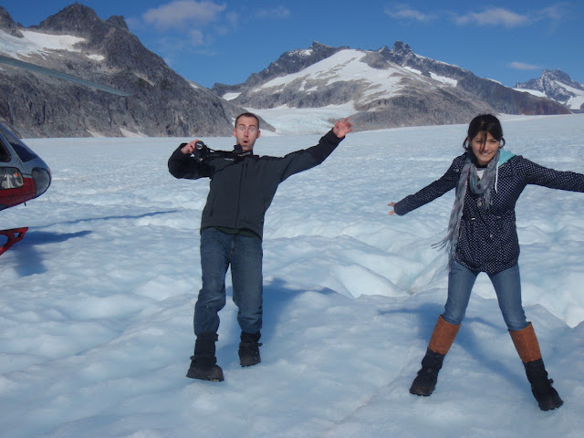 Brisa on Mendenhall Glacier