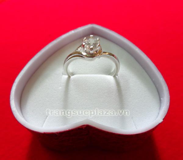 Nhẫn nữ bằng bạc NN101