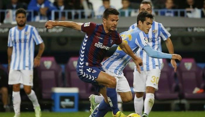 Eibar vs Malaga en vivo