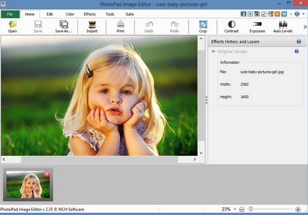 برنامج تقطيع الصور  Photo Scape+ Photo Pad Editor