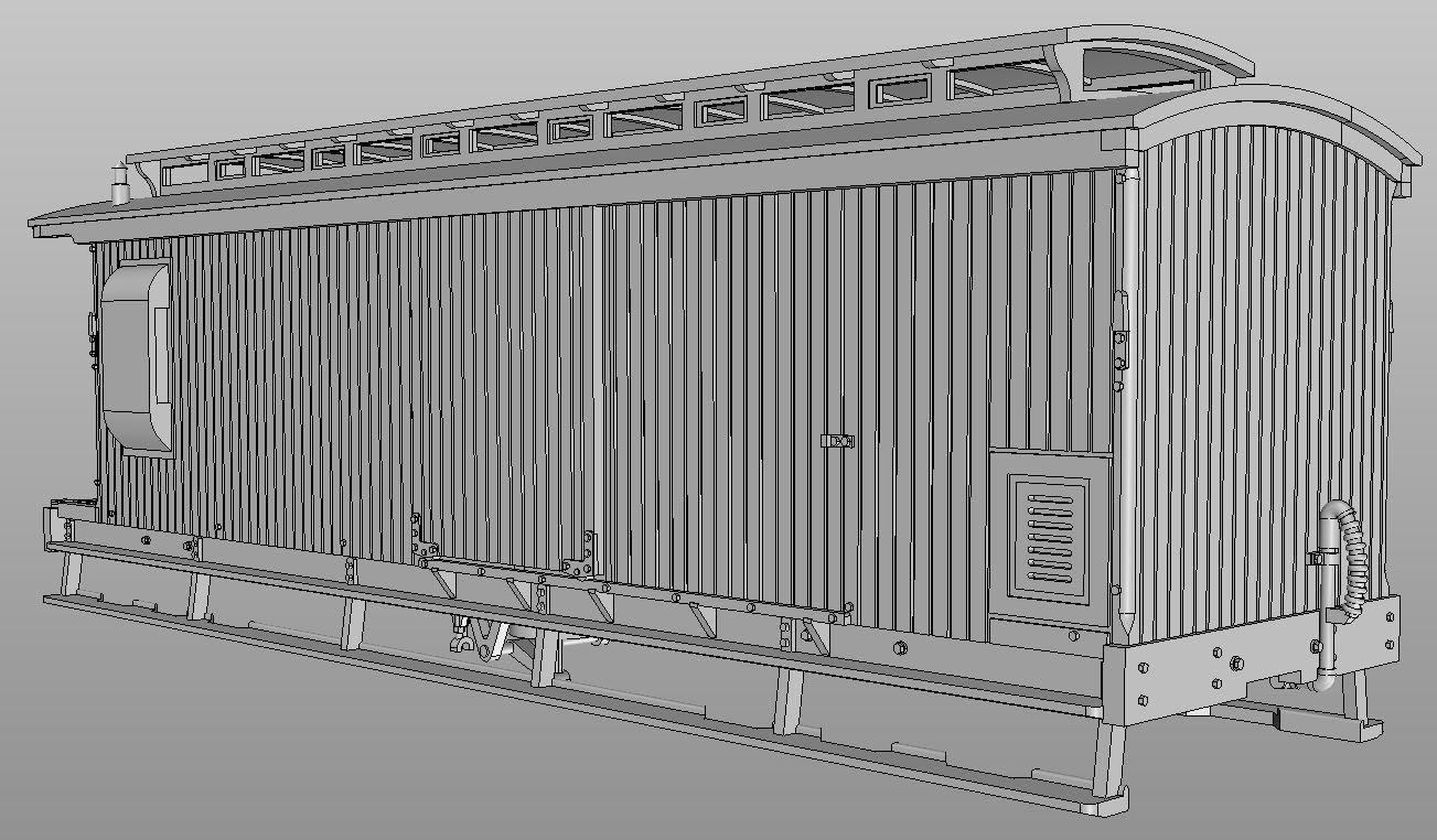 Marbelup models wagr clerestory roof z van for Clerestory roof truss design