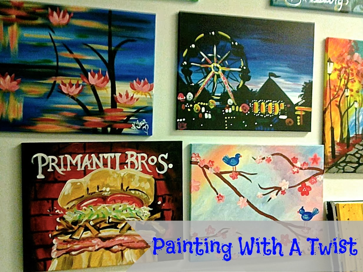 Chels the city painting with a twist in pittsburgh for Painting with a twist locations near me