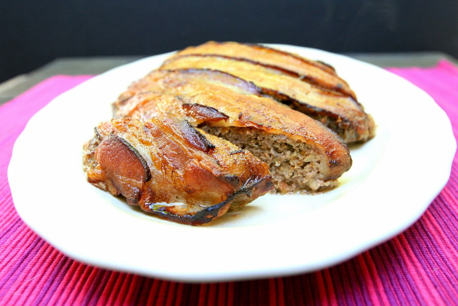 best meatloaf easy meatloaf recipe make-ahead meatloaf bacon wrapped ...