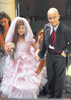 الاحتفال بزفاف الطفلة خلود سنوات