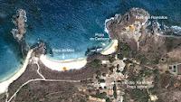 Mapa Praia do Cachorro