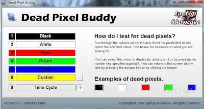 kenali piksel mati LCD