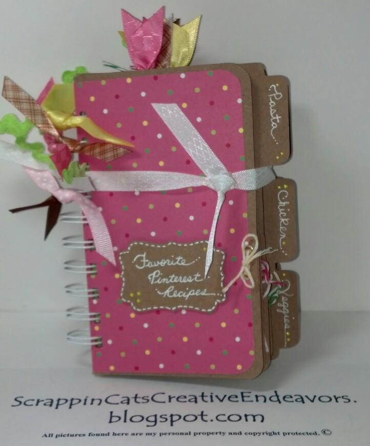 Creative File Folders File Folder Mini Cookbook