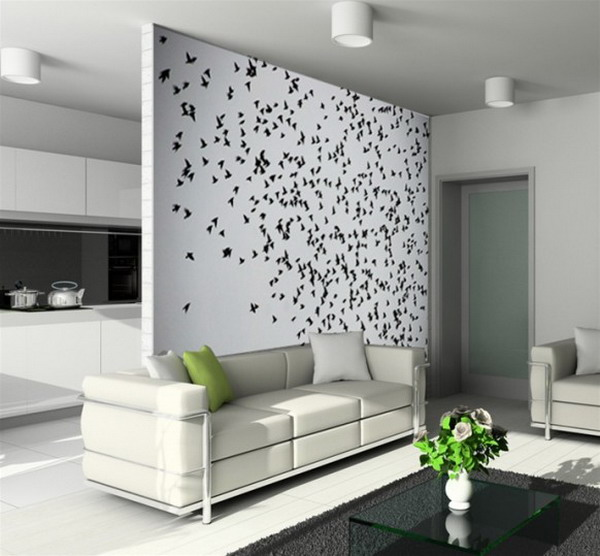 living room wall design | Home Designs