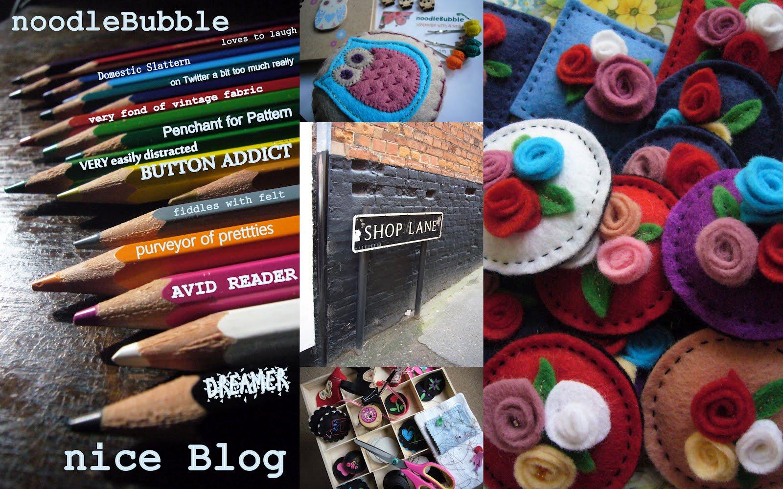 noodleBubble niceBlog