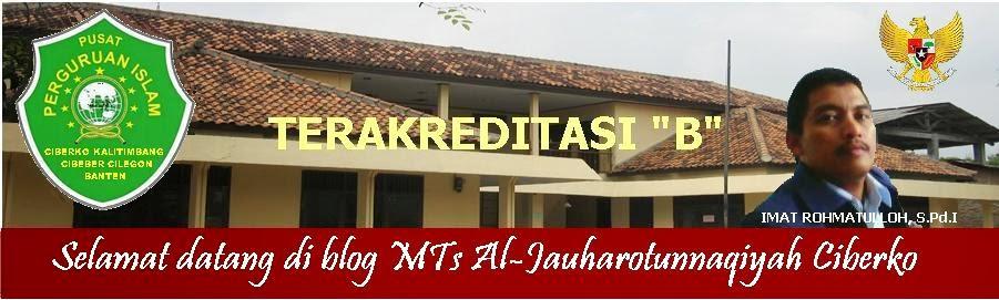 MTs Al-Jauharotunnaqiyah Ciberko