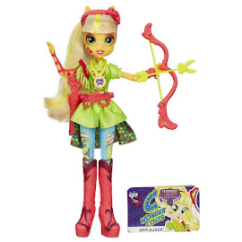 MLP Equestria Girls Friendship Games Sporty Style Deluxe Applejack Doll
