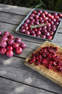 Recipe for oven roasted plum jam