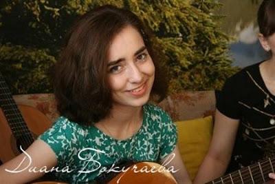 Песня под гитару «Мамина квартира» в исполнении Дианы Бокучаевой