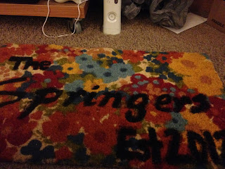 completed rug