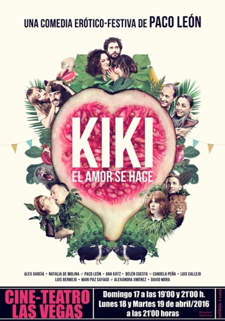 Teatro  Kiki, el amor se hace