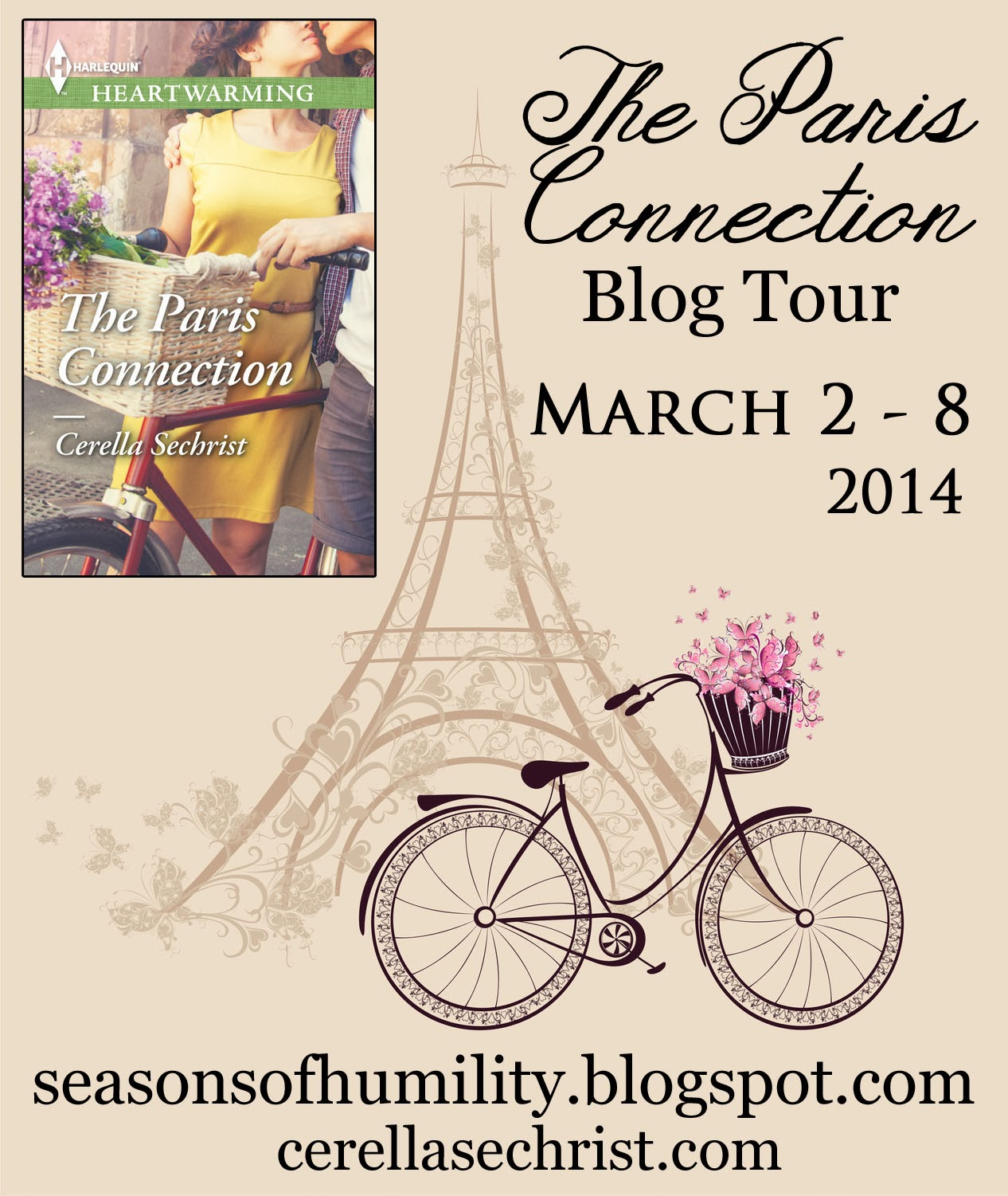 Editing Through The Seasons Blog Tour Spotlight + Giveaway: The Paris Connection by Cerella Sechrist