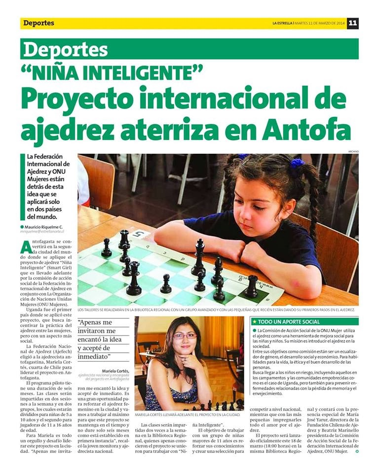 PROYECTO INTERNACIONAL NIÑAS INTELIGENTES (Smart Girl)