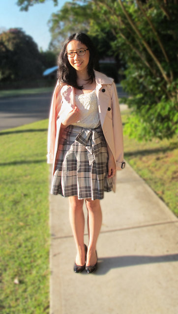 {Ladylike Charm} with Forever New and blush tones
