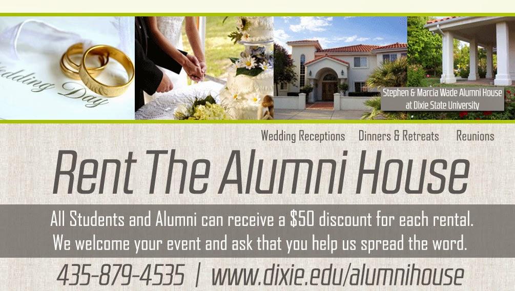 Rent the Alumni House | Dixie State University