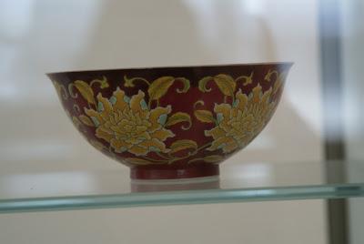 bol en porcelaine de qualité impériale