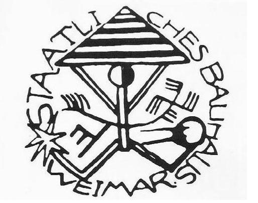 The Original Bauhaus Logo 1919