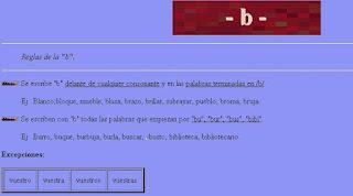 http://roble.pntic.mec.es/~msanto1/ortografia/be.htm