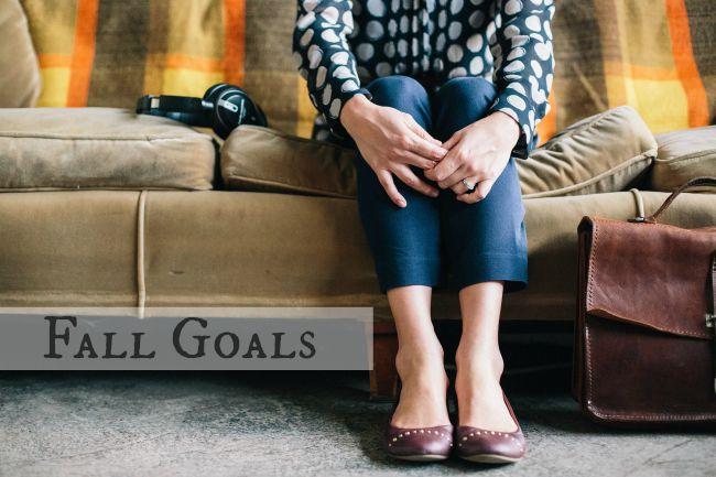 fall goals, the b bar