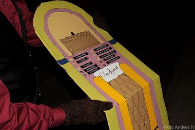 kulturnatta, göteborg, 2011, filosofspexet, levande jukebox, kör, götaplatsen, konserthuset, trappa, foto anders n