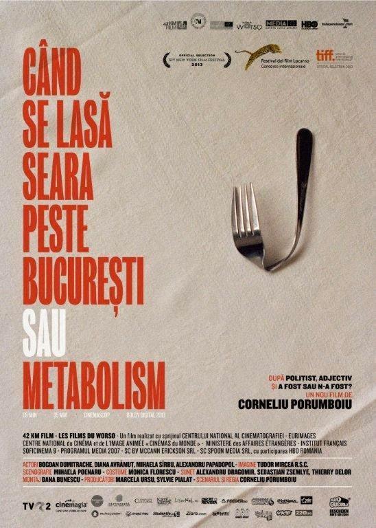 Ver Cand Se Lasa Seara Peste Bucuresti Sau Metabolism (2013) Online