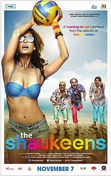 The Shaukeens (2014) Hindi Movie Poster