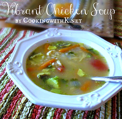 Vibrant Chicken Soup