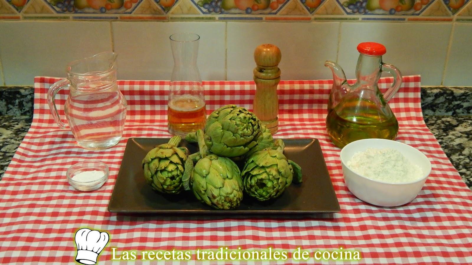 Receta fácil de alcachofas rebozadas crujientes