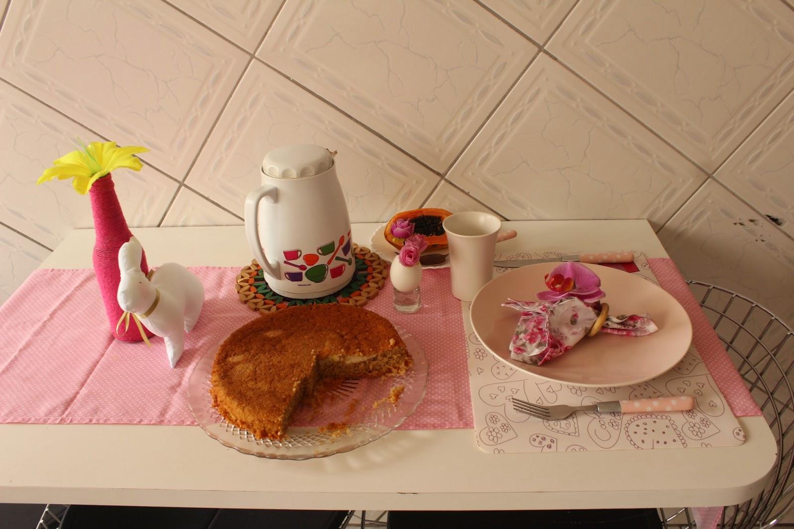 Mesa posta de páscoa - decoração de Páscoa